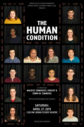 "Poster for ""The Human Condition"""